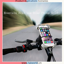 Motorcycle Cell Phone Holder Navigator Bracket Bicycle Mobile 3.5-6 inch Holding Stand