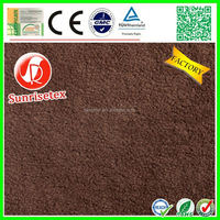 High quality cheap brushed micro polar fleece fabric factory