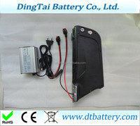 battery+charger: high power Newest 36V 14.5Ah electric bike frame battery by 18650 29e cells=charger: