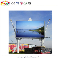 P10 SMD outdoor full color fixed advertising LED display/ screen with pixel pitch10mm, smd outdoor led display