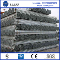 Factory price astm a53 galvanized steel pipe