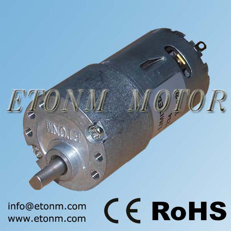 low voltage electric Motor with gear reduction ET-SGM30