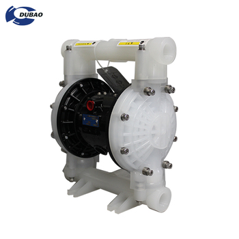 PP Industrial Pneumatic Diaphragm Water Pump for waste water filtration