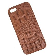 competitive price crocodile real skin leather mobile phone case for apple iphone 7 leather case