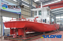 multifunction work boat for dredgers