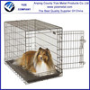 Metal Collapsible Dog Cage/single door dog metal cage