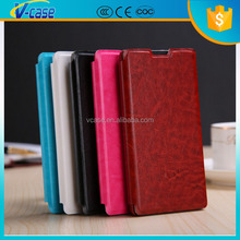 Flip leather voltage pressure mobile phone case for lenovo s820t