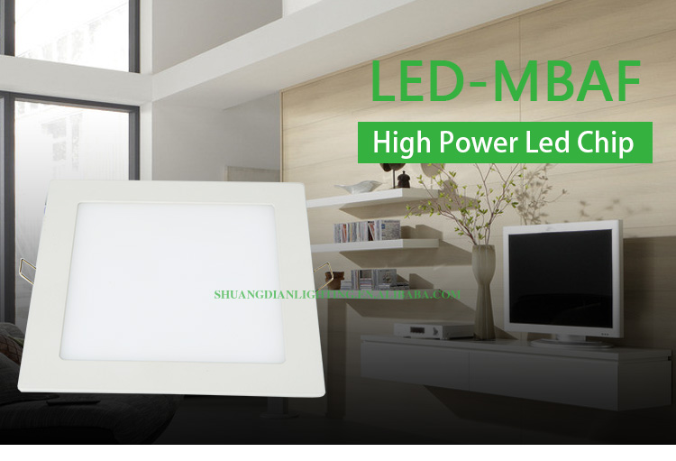 2015 SD-LED-MBAF flat Panel 3w 5w 7w 15w CE ROHS factory wholsale