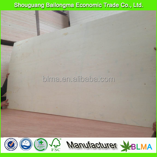 2mm thin plywood sheet for door skin