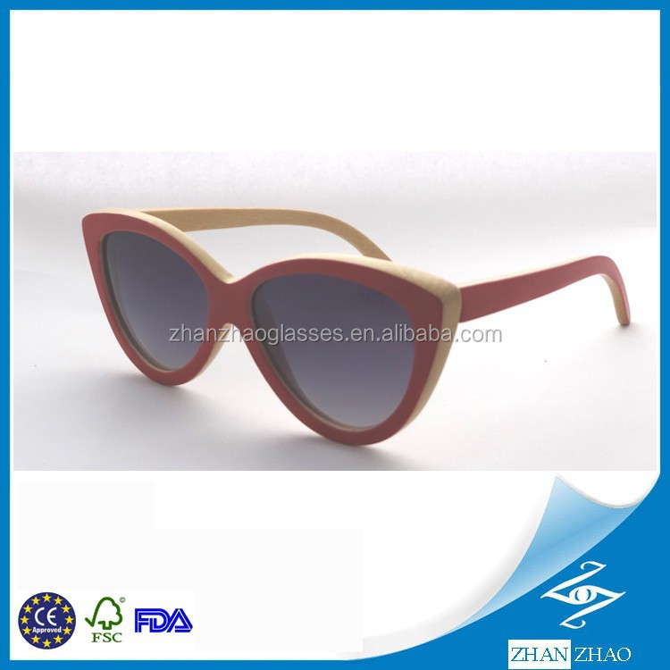 Top Design & Selling Fashion Bamboo Sunglasses