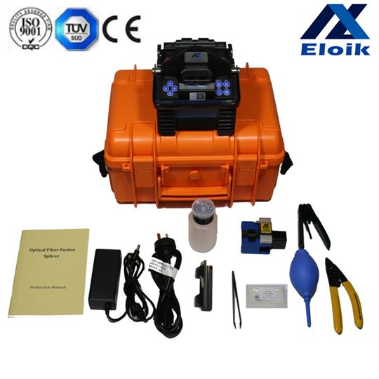 Mini Handheld Germany Eloik /fusion splicer & VFL & Power meter Combine/ ALK-88 factory directly sell