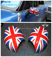 2013 high quality plastic auto/manual folding side car mirror cover for mini cooper R56-R61