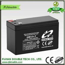 High capacity storage battery 12v7ah DB12-7 sealed lead-acid battery
