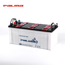 Guangdong Famous Trade Mark 150ah Durable High Starting Performance Dry Charged Truck Battery,Heavy Duty Dry Charged Auto Truck