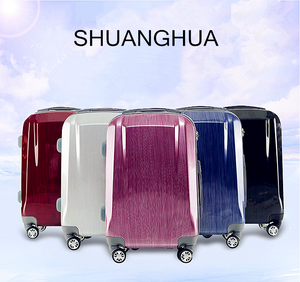 2018 new fashion ABS + PC trolley case