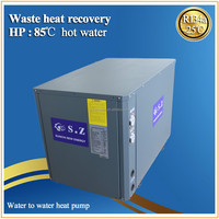 19kw commercial 85C high temperature air to water heat pump water heater