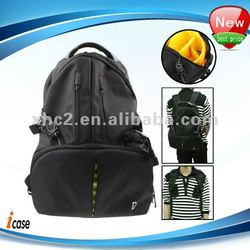 Notebook / Laptop / SLR Camera Travel Backpack with Waterproof Cover