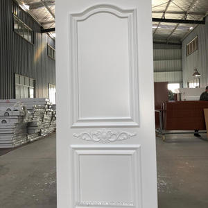 High Quality single main design carving wooden Door