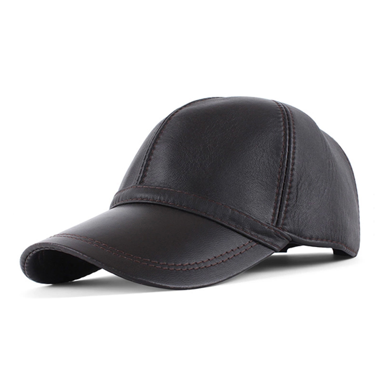 Fashion Promotional Leather Baseball <strong>Caps</strong> for Sale