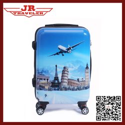 luggage for teenagers/cheap kids luggage/abs spinner luggage