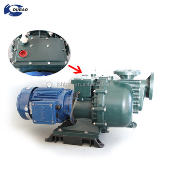 Idling capable self-priming pump