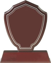 Best quality customize size logo accept blank wooden awards plaque