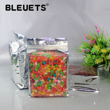 flat bottom clear plastic pouch manufacturer