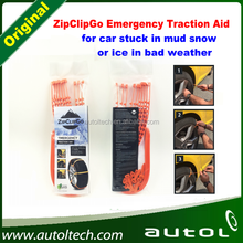 10pcs Zip and 10pcs Clip for 2 Wheels---ZipClipGo Emergency Traction Aid--- Can be used 10 to 22 Inches