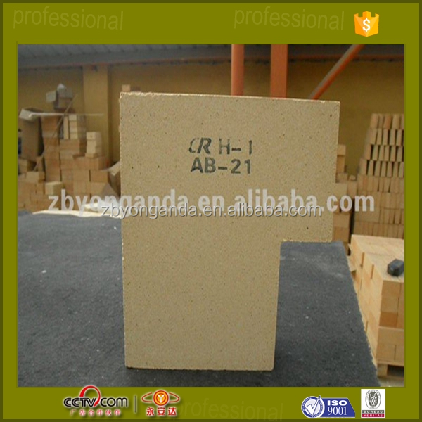 high alumina sintered low porosity fireproof brick