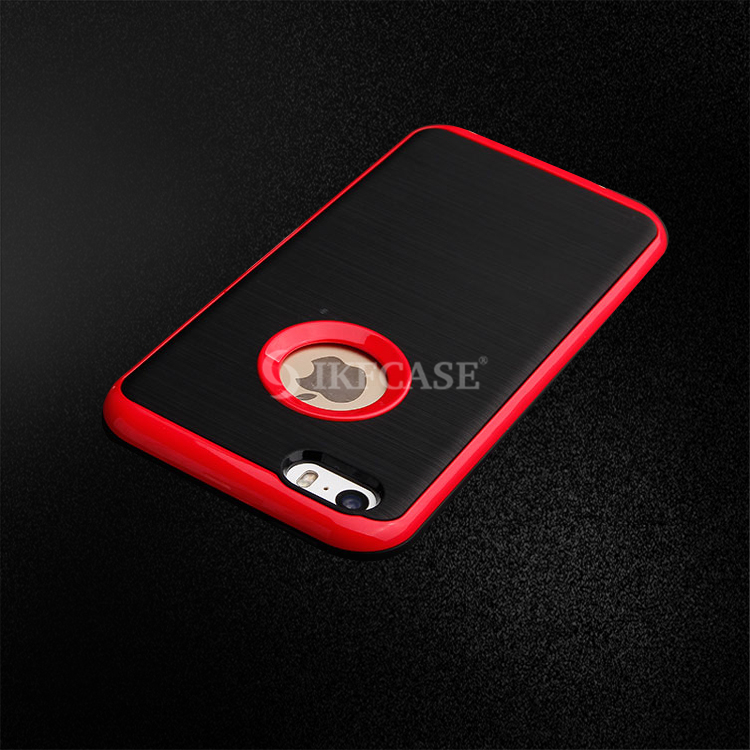 Wholesale cell phone cover for iphone 5/5s wire drawing line TPU PC case