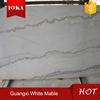 Hot Chinese Guangxi White Marble Tile for decoration
