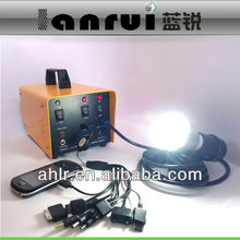 20w portable solar system for rural area use
