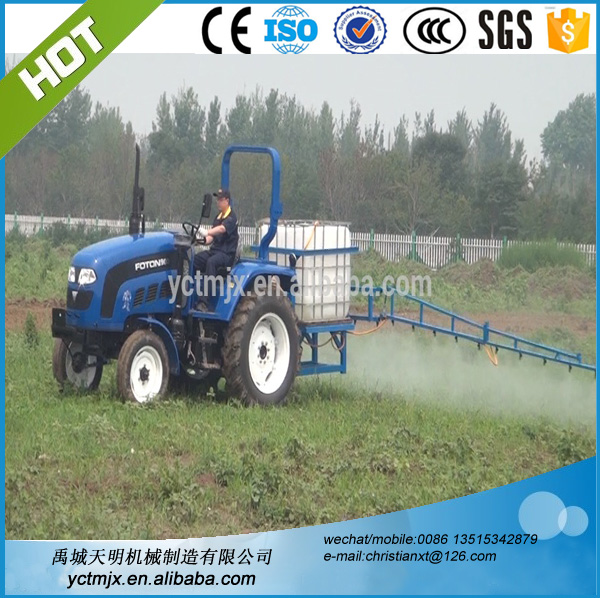 Farm machinery boom sprayer tractor mounted sprayer , orchard sprayer for sale