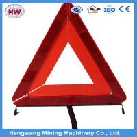 Portable Red Safety Reflective Warning Triangle