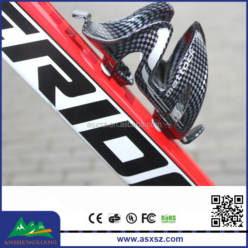 Plastic bike bottle cage mountain bike water cup holder for wholesale