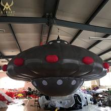 Holiday Outdoor Indoor Event Star Party Decoration Inflatable giant UFO balloon