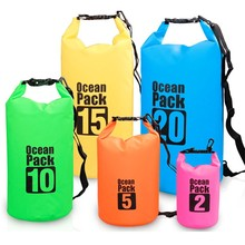 promotional factory price pvc waterproof dry bag backpack