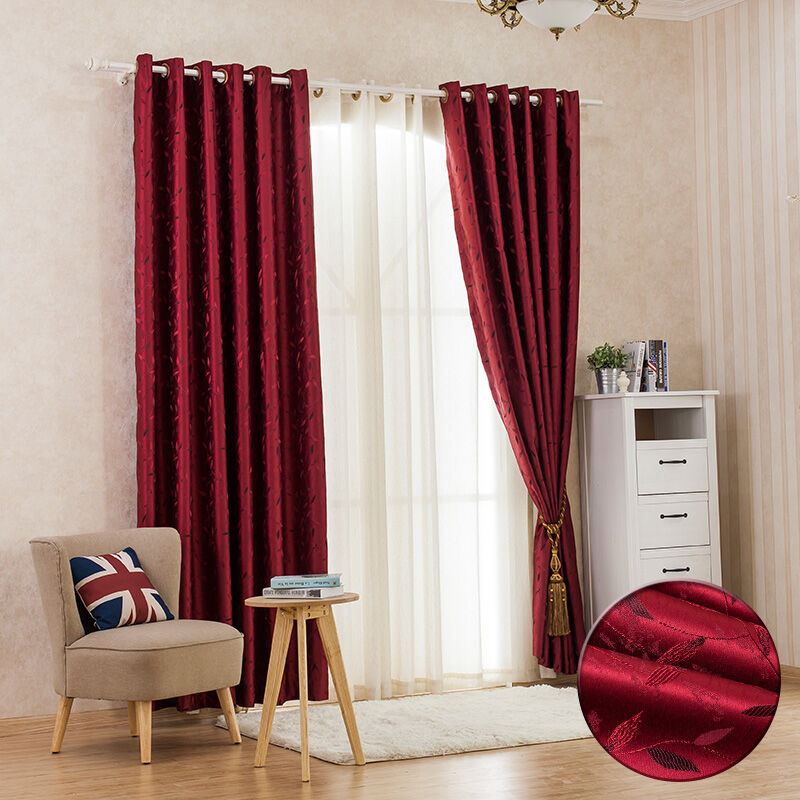 Rural style short curtain finished window curtain made in china
