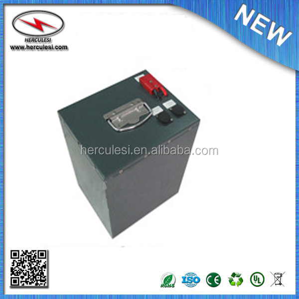 lifepo4 battery 72v 60ah/rechargeable battery for solar