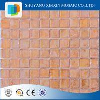 High quality gold mirror glass mosaic tiles