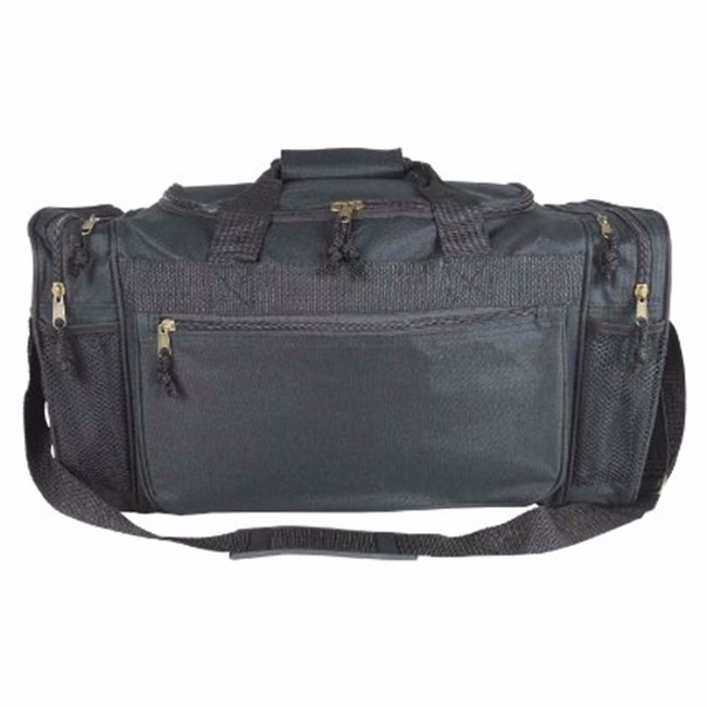 600D Polyester Sports Duffle Travel Gym Bag customize your travel bag