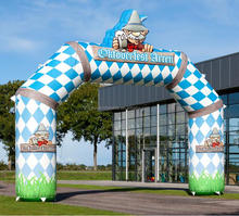 Factory outlet promotional inflatable oktoberfest arch