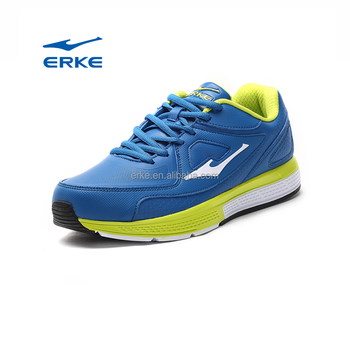 ERKE wholesale drop shipping hot sales high blue sneakers running shoes for men