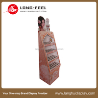 Finely processed and price-competitive fire extinguisher carton stand display manufacture