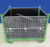 Folding Stackable Heavy Duty Metal Container with PP Sheet