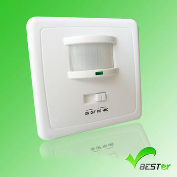 Automatic Turn On/off Small Electric Wall Light Switch With Motion Sensor Human Detect 220v ...