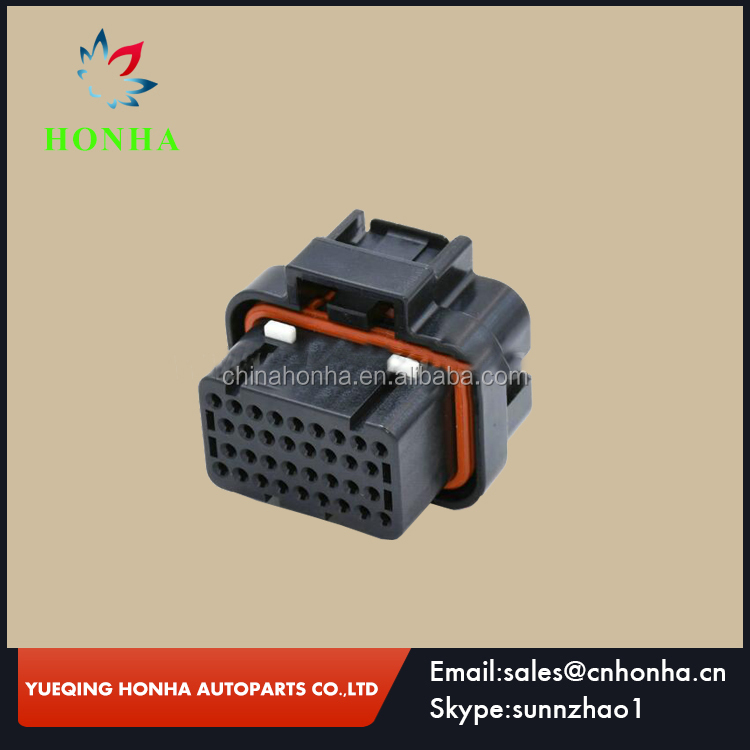 4-1437290-1 high quality tyco 34 way female TE CONNECTIVITY automotive wire harness ECU connector