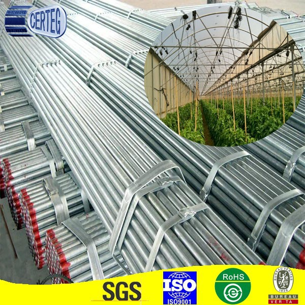 building material galvanized round/square/rectangular/oval pipes