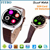 Classical MTK Camera 3D Pedometer watch phone oem for galaxy S7