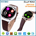 Classical MTK Camera 3D Pedometer watch phone oem for Galaxy S7 edge S6 S6 edge Plus S8 S8 Plus
